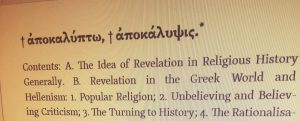 Hidden or Revealed: What is a Revelation?